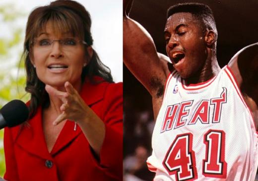 Sarah Palin and Glen Rice
