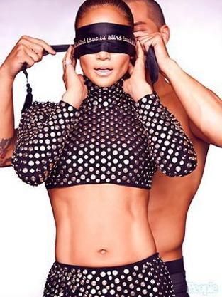 Casper Smart Blindfolds J. Lo