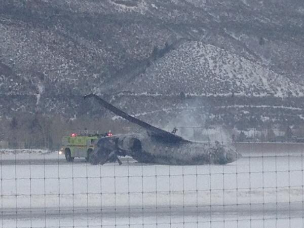 Aspen Plane Crash Pic