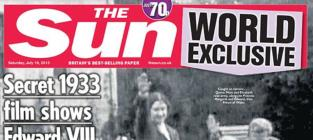 Queen Elizabeth II: Caught Giving Nazi Salute!!!!!!