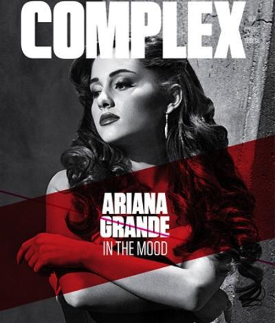 Ariana Grande Complex Cover