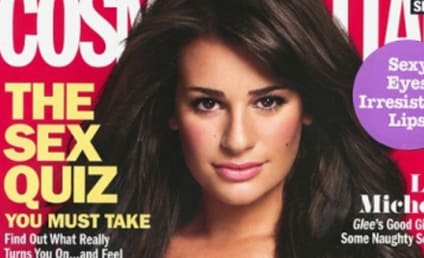 Lea Michele Covers Cosmo, Chosen for Super Bowl