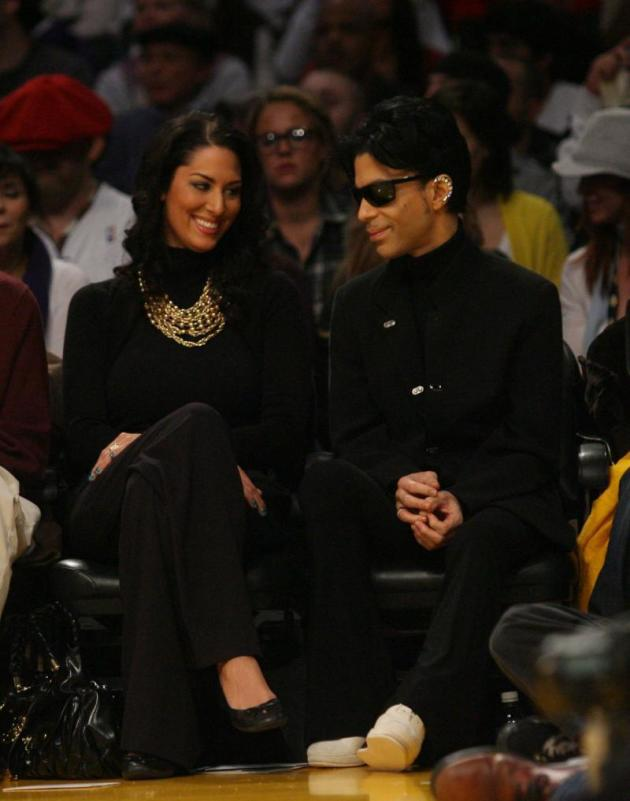 Prince and Girlfriend
