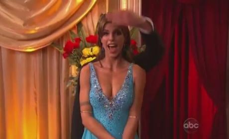 Elisabetta Canalis Sizzles on Dancing With the Stars