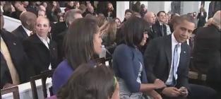 Malia Obama Photo Bomb: Sasha's Picture of Parents Kissing Thwarted!