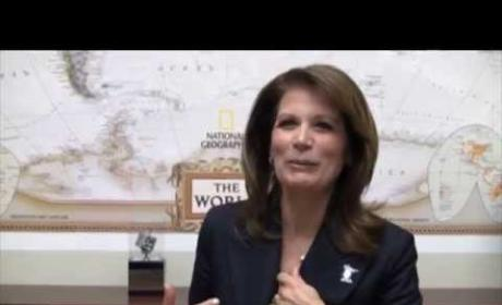 "Michele Bachmann Raps Macklemore's ""Thrift Shop"" in Hilarious Video! Watch Now!"