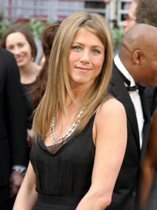 Jennifer Aniston Black Gown