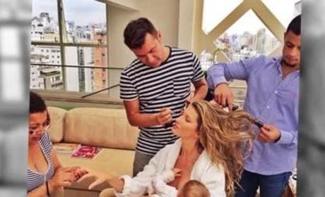 Gisele Bundchen Shares Breastfeeding Picture