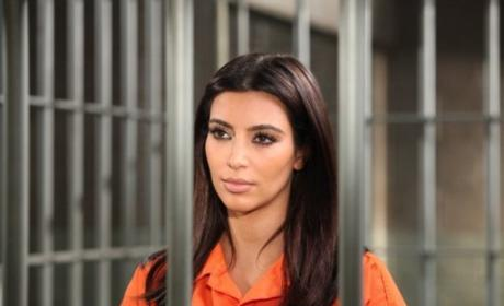 Kim Kardashian Prison Photo