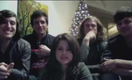 Selena Gomez & The Scene to Fans: Merry Christmas!