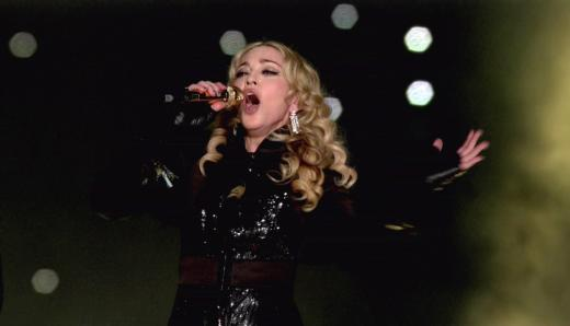 Madonna at the Super Bowl
