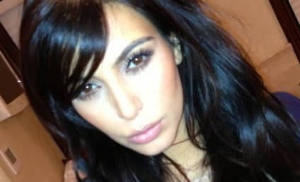 Kim Kardashian Debuts New Bangs: They're Real!