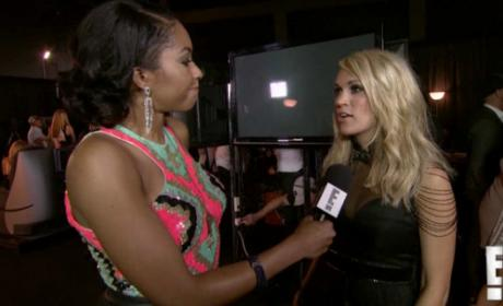 Carrie Underwood Talks Motherhood: WATCH!!!