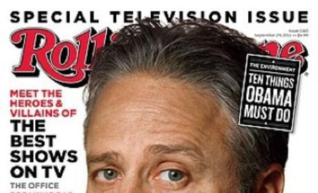 Jon Stewart: Disappointed in President Obama