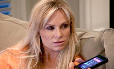 "Tamra Barney Bullies Fan Online, Dismisses Cast Mates as ""Boring"""