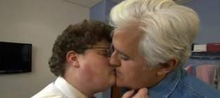 Bar Refaeli Kiss: A Plea from Jay Leno