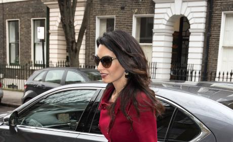 Amal Clooney In London