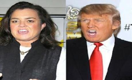 Rosie O'Donnell Receives Well Wishes from... Donald Trump?!?