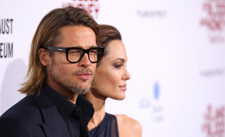 Brangelina Photos Stolen, Media Barred From Publication