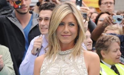 Jennifer Aniston: Happy With Justin Theroux, and For Brad Pitt!