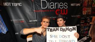 Team Damon Sign
