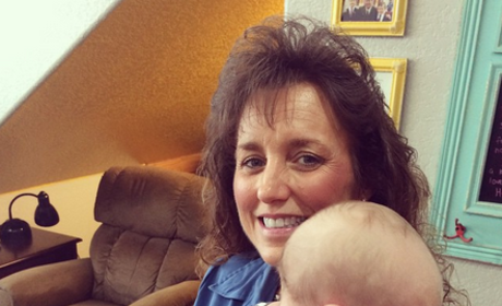 Michelle Duggar and Israel Dillard