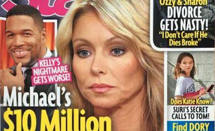Michael Strahan to Pen Scathing Memoir About Kelly Ripa?