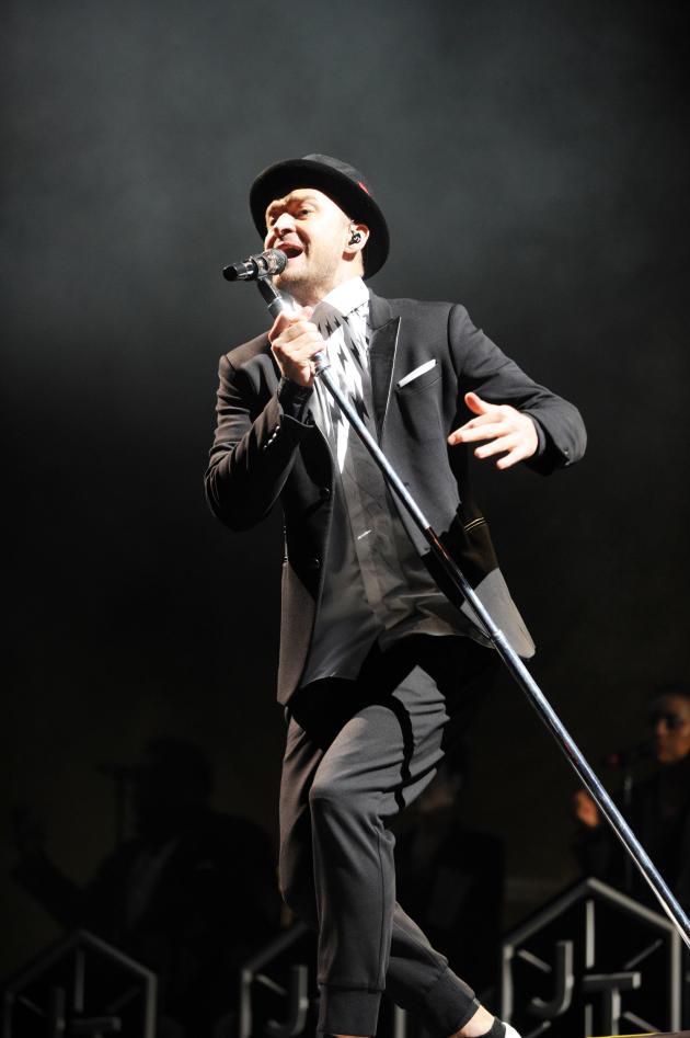 Justin Timberlake in The UK