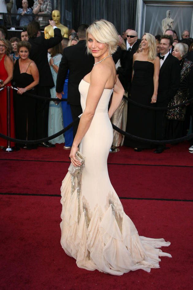 Cameron Diaz at the Oscars