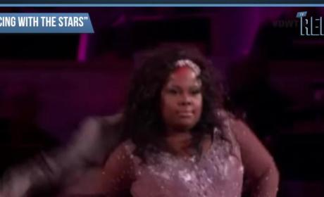 Amber Riley on Dancing With the Stars Premiere