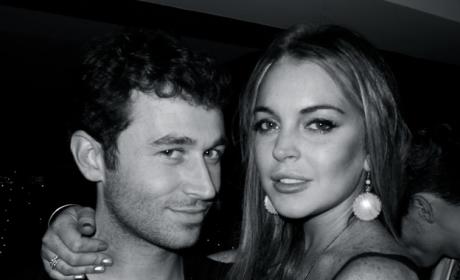 Lindsay Lohan and James Deen