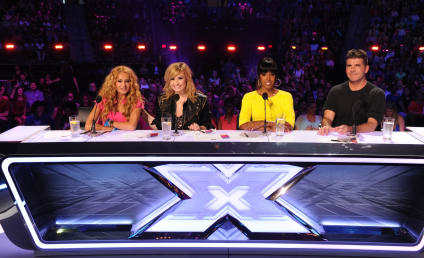 The X Factor Season 3 Judges: First Look!