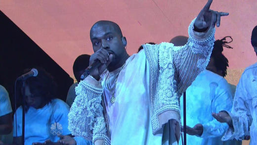 Kanye West on Saturday Night Live