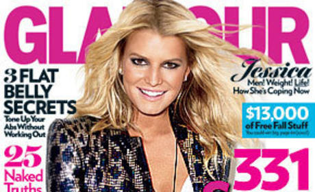Jessica Simpson Glamour Cover
