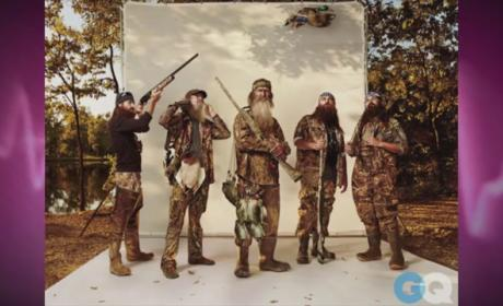 Glenn Beck to Duck Dynasty Cast: Come to The Blaze!