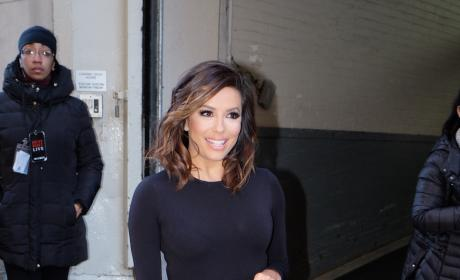 Eva Longoria Visits HuffPo's NY Offices