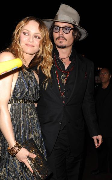 Vanessa Paradis, Johnny Depp