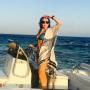 Lindsay Lohan is on a Boat