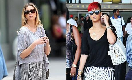 Celebrity Fashion Face-Off: Whitney Port vs. Rihanna