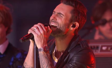 Adam Levine Performs at MTV VMAs, Decries Lack of Pants at Event