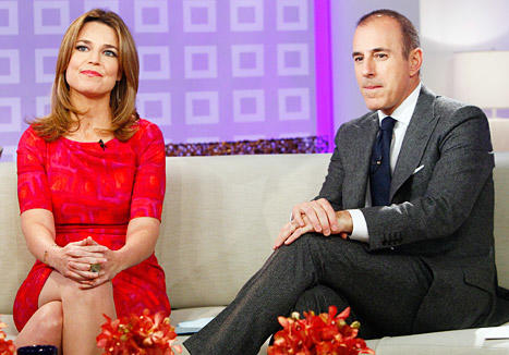 Savannah Guthrie and Matt Lauer Pic