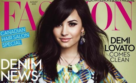 Demi Lovato Fashion Cover