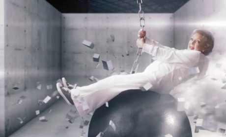 Betty White Parodies Miley Cyrus, Rides Wrecking Ball in New Promo