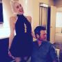 Blake and Gwen Instagram Pic 2