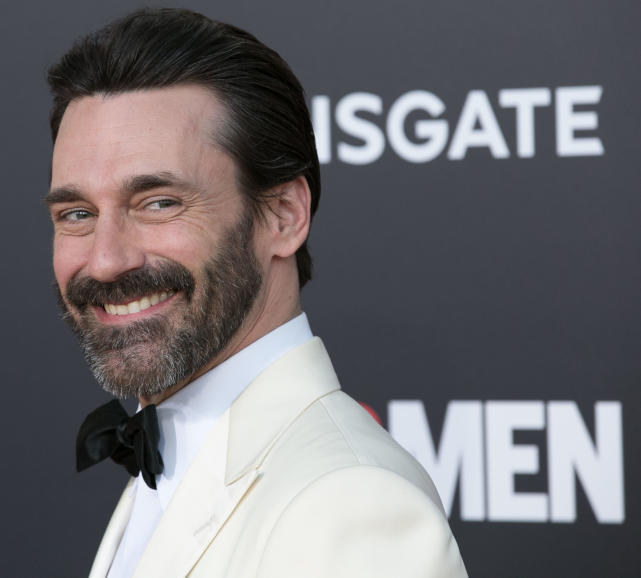 Jon hamm mad men premiere