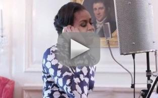 Michelle Obama Raps About College, Slays It