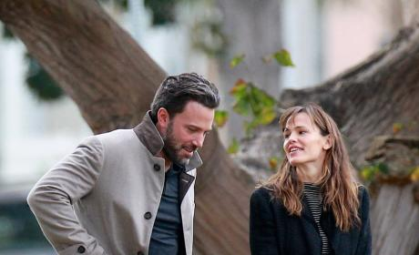 Ben Affleck and Jennifer Garner in Happier Times