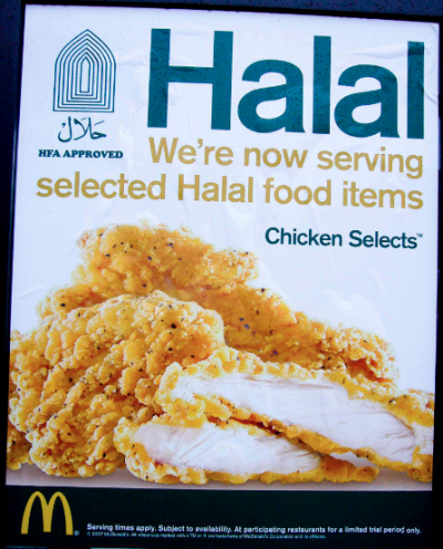 Halal McDonald's