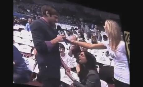 Marriage Proposal Fail: UCLA Fan Rejected on JumboTron!