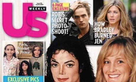 Michael Jackson, Debbie Rowe and Prince